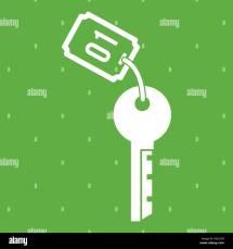 Green Door Number 1 Stock &