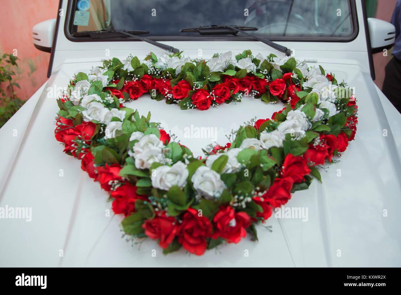 Decorated Wedding Car Stock Photos  Decorated Wedding Car