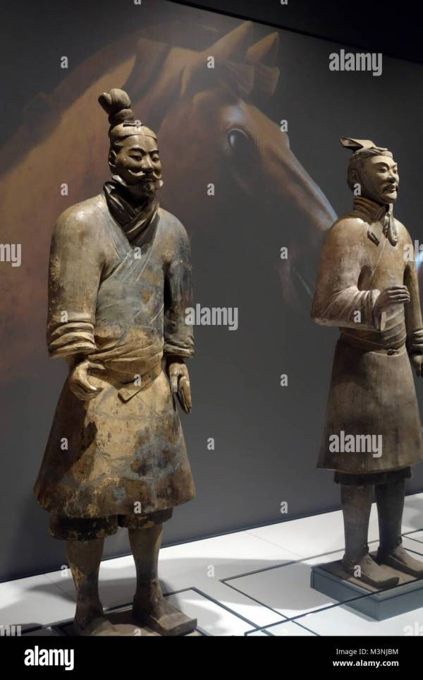 Emperor Chinas Terracotta Army Stock &