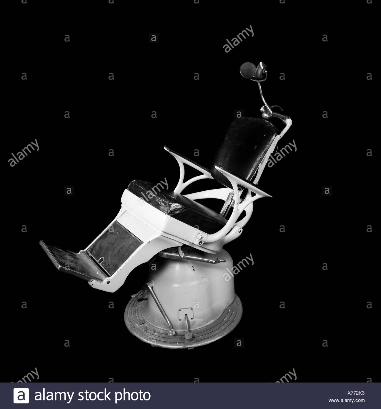 portable dental chair philippines indoor dining pads dentist black and white stock photos images alamy