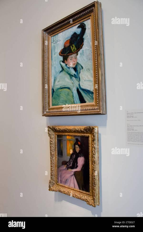 Picasso Painting Art Stockfotos & Bilder - Alamy