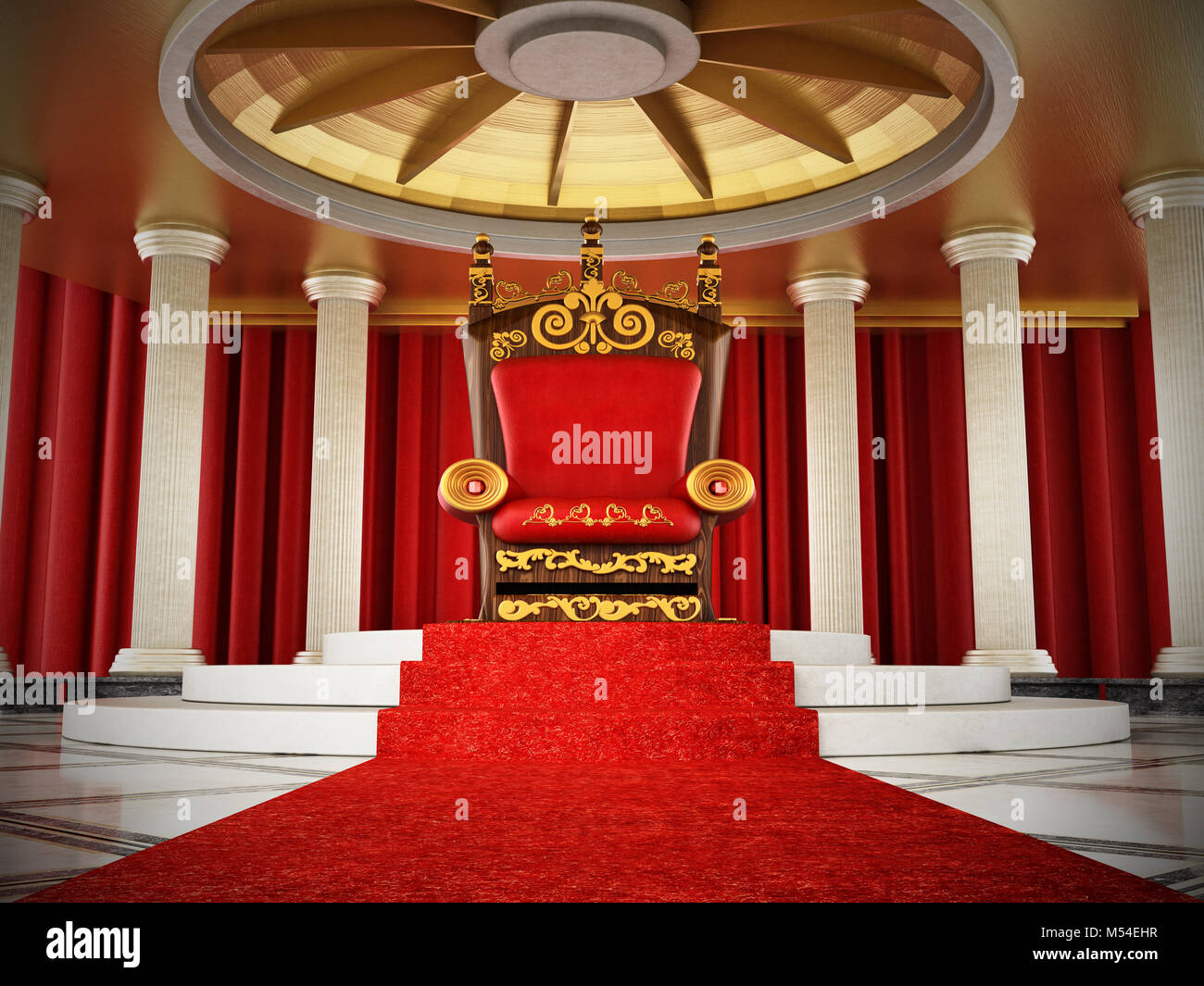 Roter Teppich Die Mannschaft Royal King Chair Stockfotos And Royal King Chair Bilder Alamy