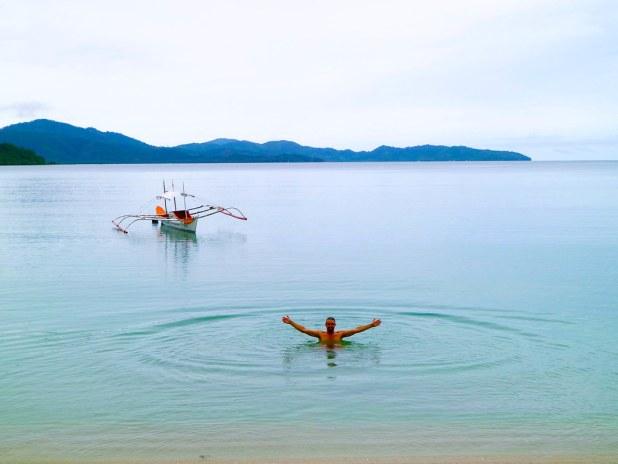 Playas en Port Barton, Filipinas