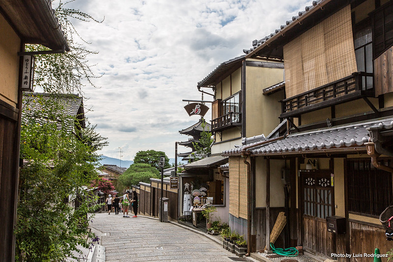 Calles Sannenzaka y Ninenzaka de Kioto