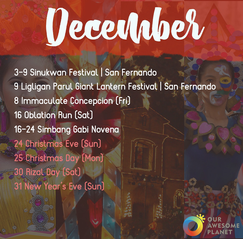 2017 Holidays & Festivals