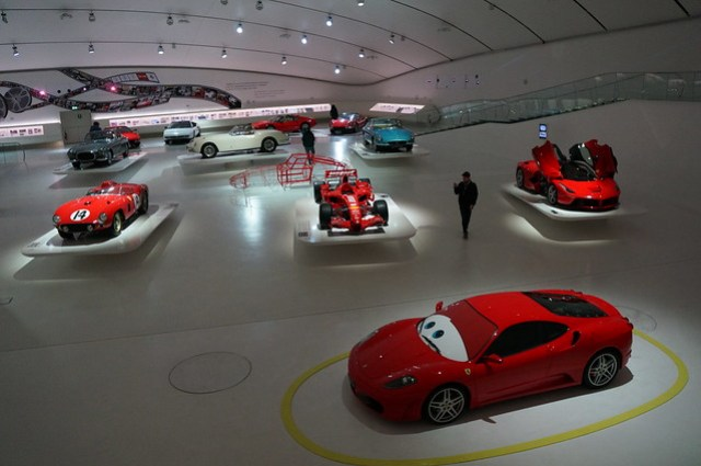 Modena and the Ferraris