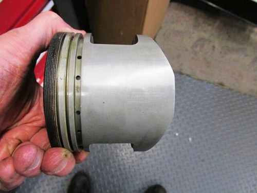 Other Piston Skirt Equally Clean