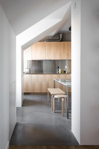 AMM blog: a kitchen of natural wood and steel