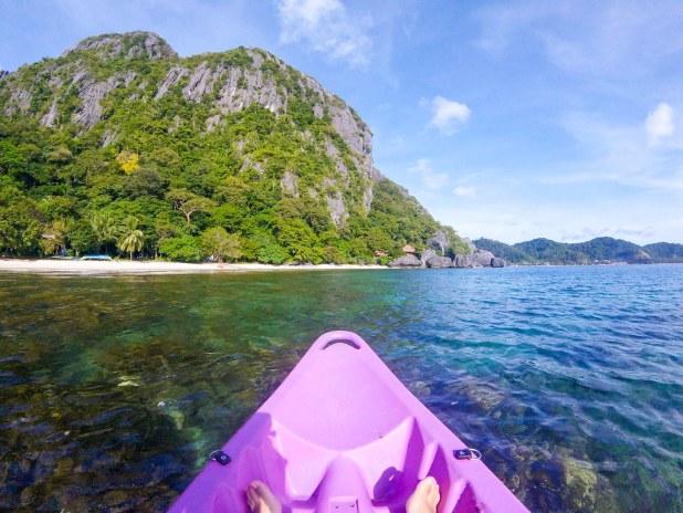 Kayak en El Nido