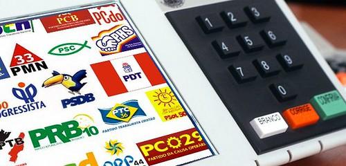 Os 10 partidos com maior número de vereadores no Pará, partidos e urnas