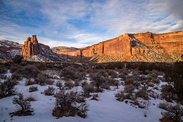 Canyon Snow