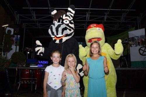 kinderen bij Zeppe en Zikki tijdens West-Vlaanderens Mooiste