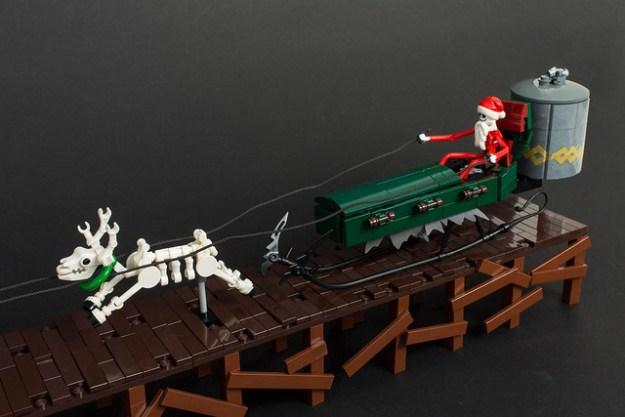 nightmare before christmas sleigh