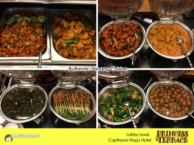 Copthorne Kings Princess Terrace Christmas Penang Buffet