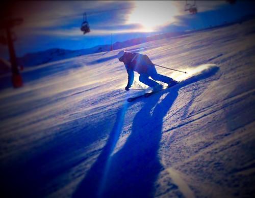 Esquiando en Cerler