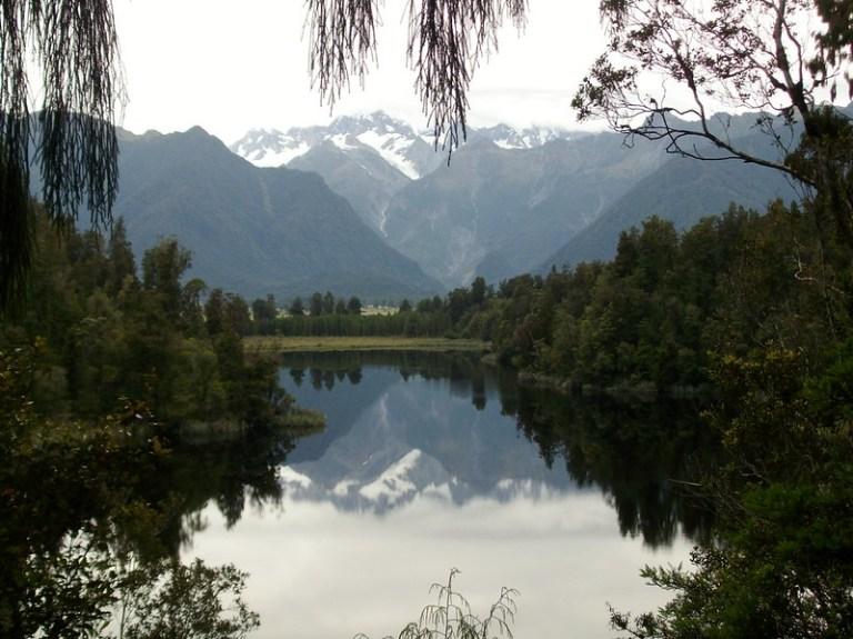 Lake Matheson, South Island, New Zealand - the tea break project solo female travel blog