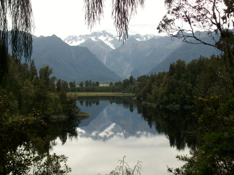 Lake Matheson, South Island, New Zealand - the tea break project solo female travel blog
