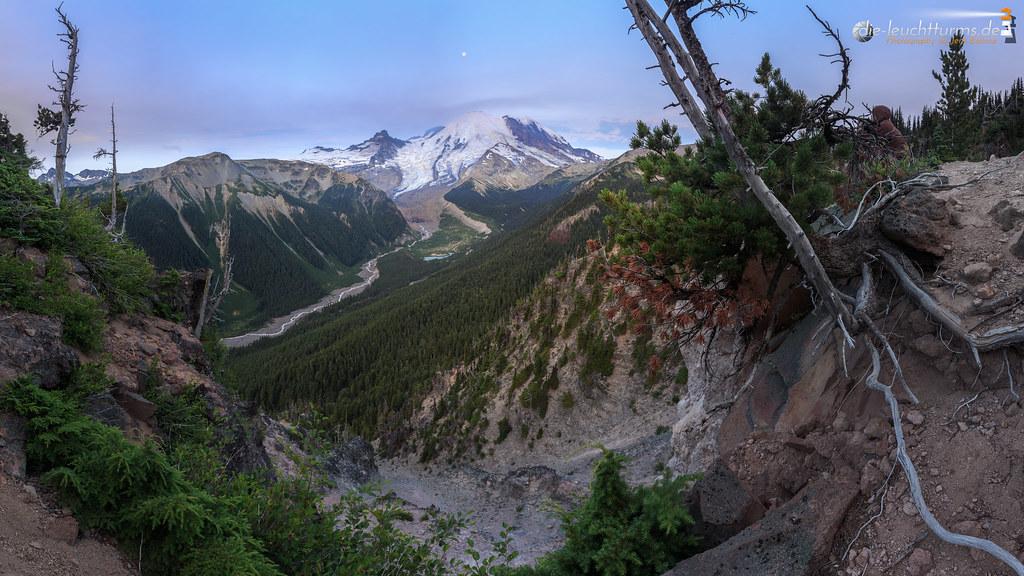 Mount Rainier in morning light