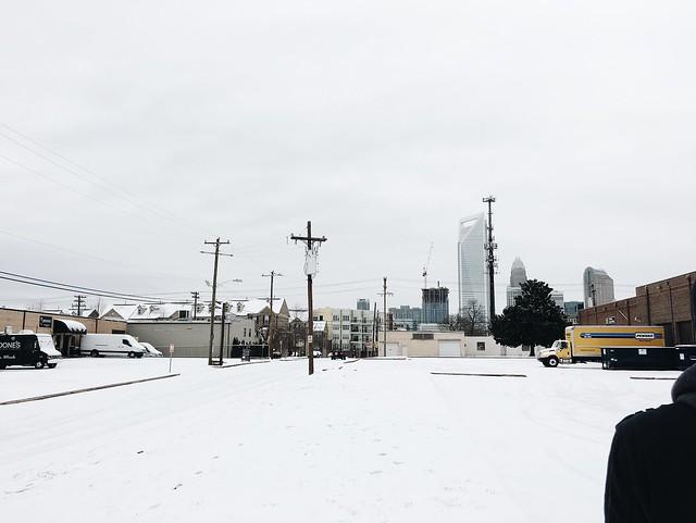 Charlotte, North Carolina Ice Storm