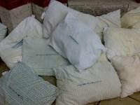 Dirty Pillows!   Weird dirty pillows with speech balloons ...