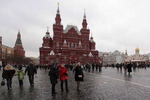 State Historical Museum (Государственный исторический музей) on Red Square