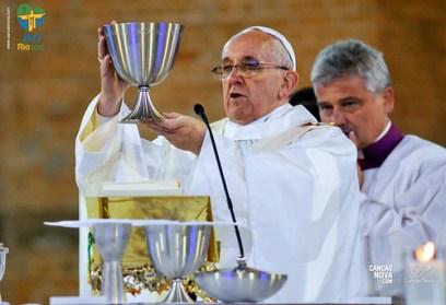 frase do dia, de Papa Francisco em Aparecida
