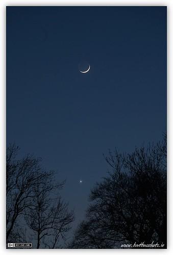 The Moon & Venus
