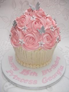Birthday Giant Cupcake  Wwwfacebookcom