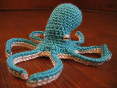 smurftopus wo hat  Hatless basic medium octopus shape tha  Flickr