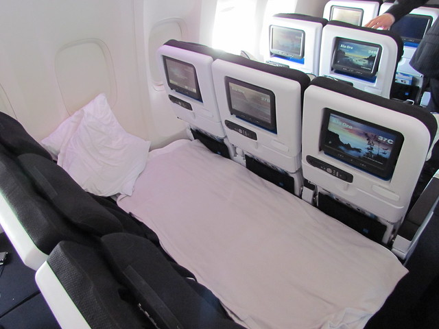 Air New Zealand: Economy & Economy Skycouch