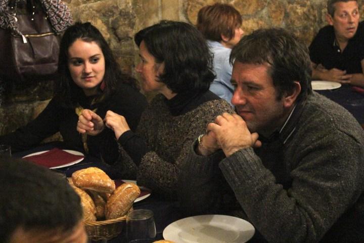 María, Bego y Aitz.
