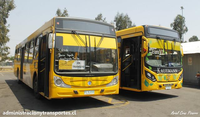 Transantiago | STP Santiago | Caio Mondego H 13.2 / Caio Mondego II - FLXJ56 / FLXS31