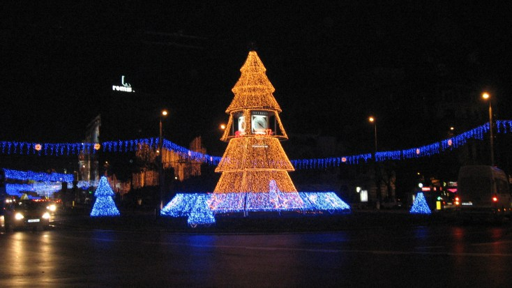 Christmas Lights, Bucharest
