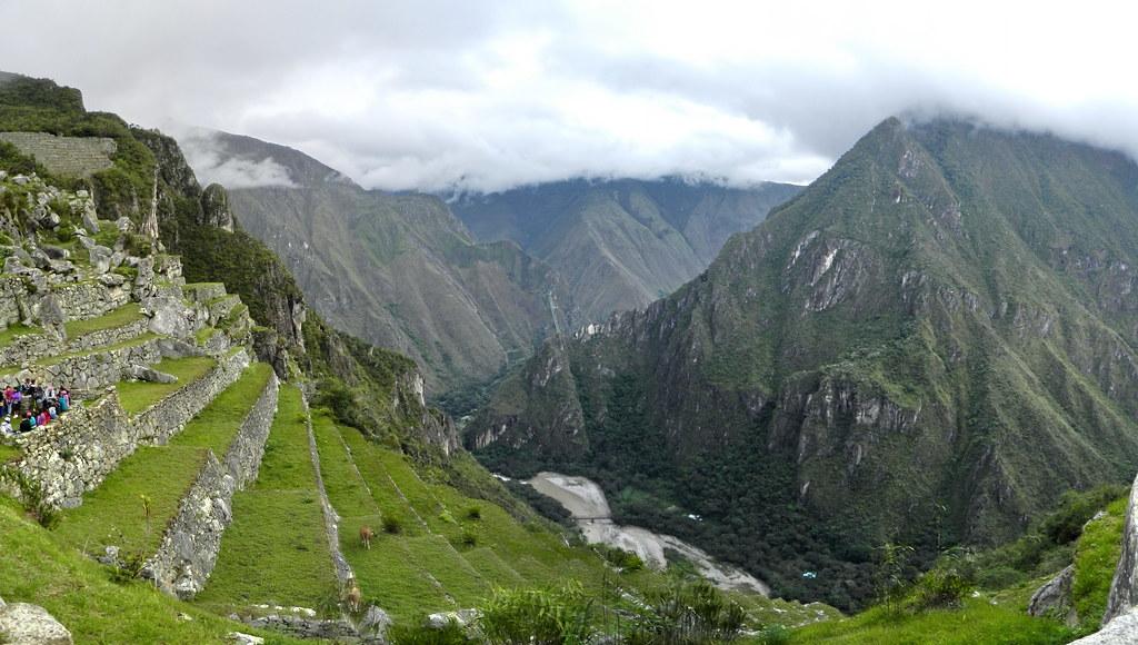 Peru Machu Picchu Terrazas de Cultivo andenes Casa del guardian Depositos colcas 01
