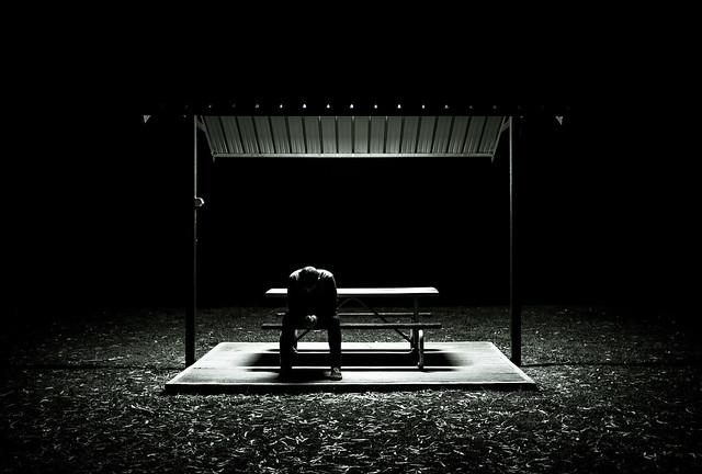 Untitled - man in the dark