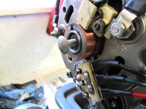 M6 x 10 mm Bolt In Alternator Rotor Allen Head Bolt