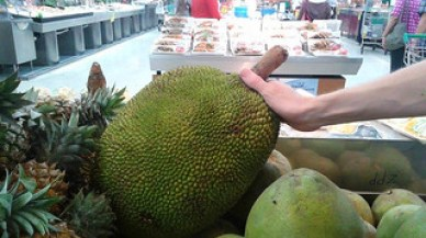 Jackfruit and other fruits