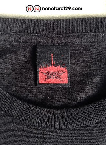babymetal tokyo dome towel and t shirt 06