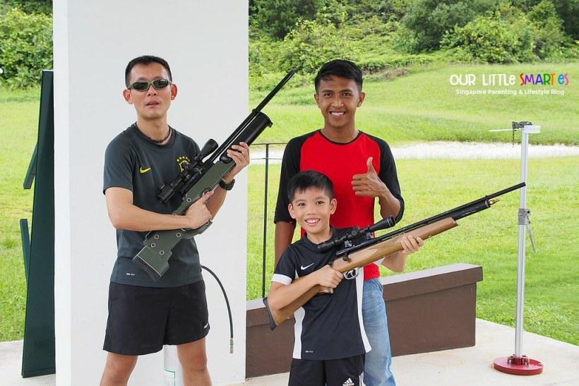 Air Rifle in Bintan Lagoon Resort