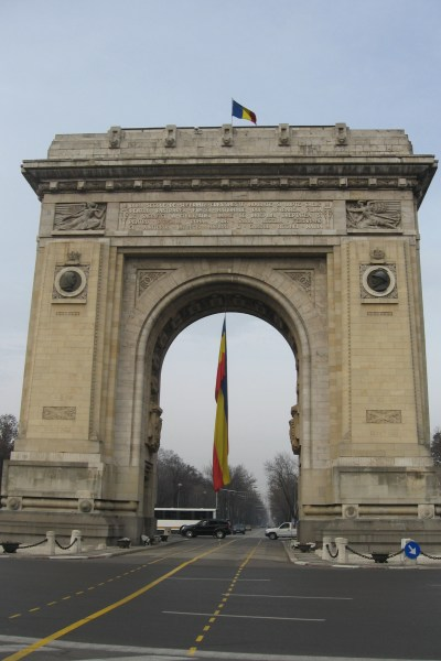 The Triumphal Arch, Bucharest