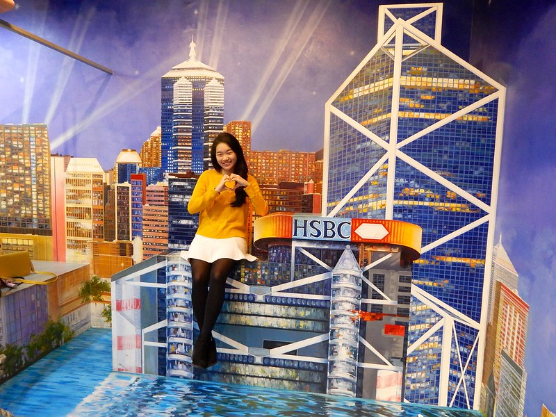 City Girl City Stories: Trick Eye Museum HK