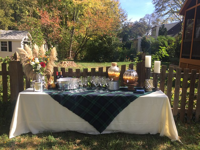 Fall themed baby shower by Calvert Designs