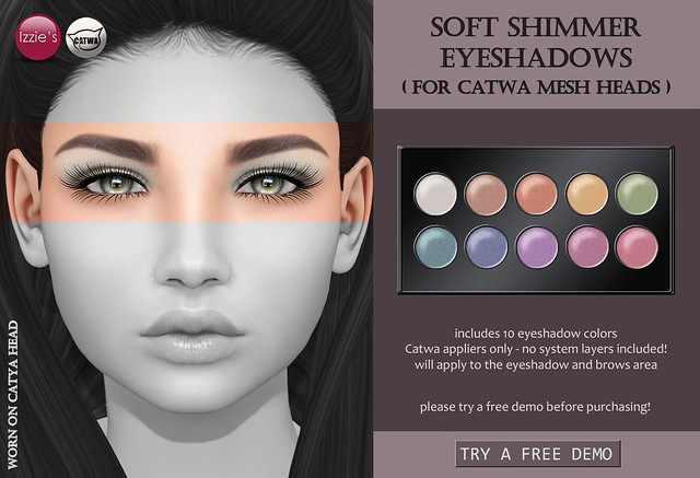 Soft Shimmer Eyeshadows CATWA (for FLF)