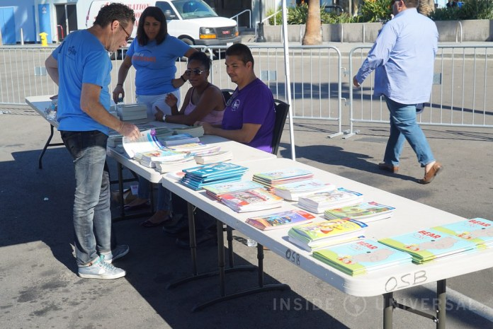 "Universal hosts annual ""Day of Giving"" charity event for 250 homeless children"