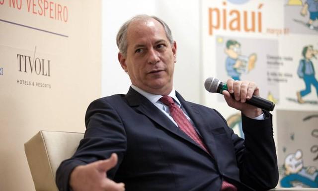 PT e PSOL discutem MTST criação de um novo partido de esquerda, Ciro Gomes