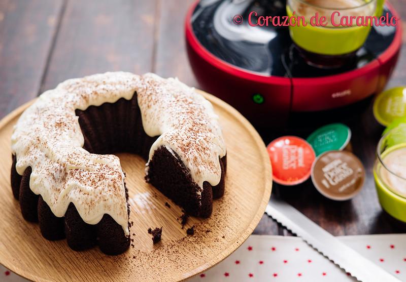 Bundt Cake de Café y Chocolate