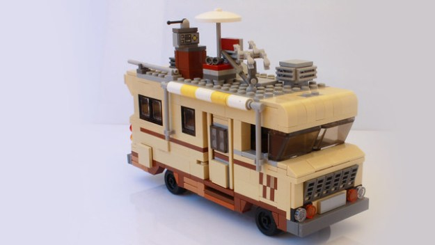 Dale Horvaths Rv From The Walking Dead In Lego Instructions The