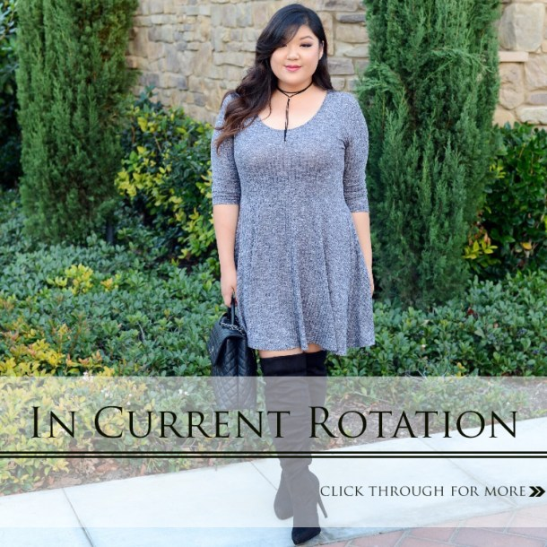 35c8a6ee5a7 Curvy Girl Chic Plus Size Fashion Blog Wide Calf Over The Knee Boots and  Plus Size