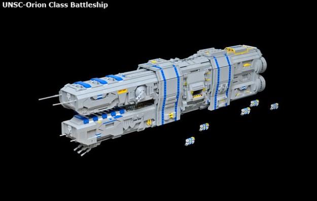 UNSC-Orion Class Battleship