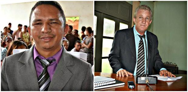 João Menezes e Luiz Cutia, do Trairão